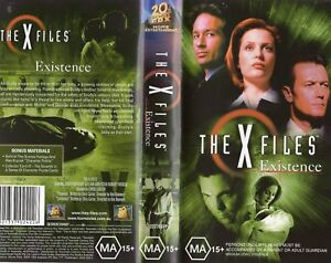 THE-X-FILES-EXISTENCE-VHS-PAL-N-amp-S-Never-played-Original-Oz-release
