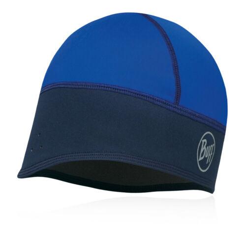 Buff Unisex Tech Fleece Windproof Hat Cap Blue Navy Sports Running Outdoors
