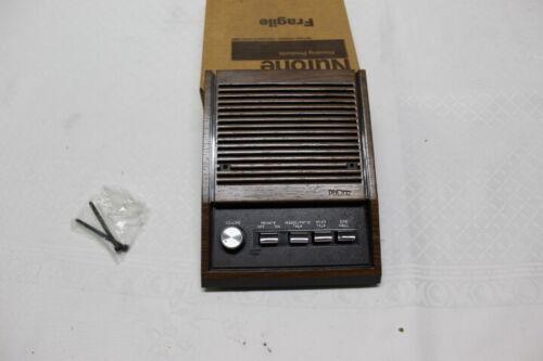 "Nutone IS-405D 5/"" Inside Speaker Walnut Finish For Use w// IM-4006 New NOS"