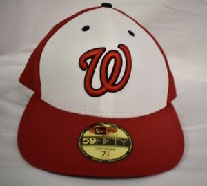 284e44c9 Details about New Era 59Fifty MLB Washington Nationals Low Crown Fitted Hat  Cap New Pick Size