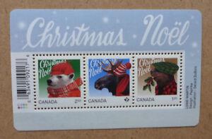 2015-CANADA-CHRISTMAS-STAMP-SHEETLET-MINT-MNH