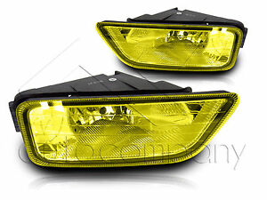 0607    Honda       Accord    Inspire JDM 4Dr    Fog       Light    wWiring Kit   Installation Yellow   eBay