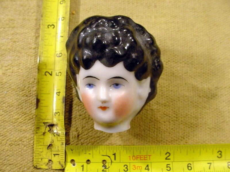 Excavated painted victorian Doll head Hertel & Schwab age 1860 German Art.1342