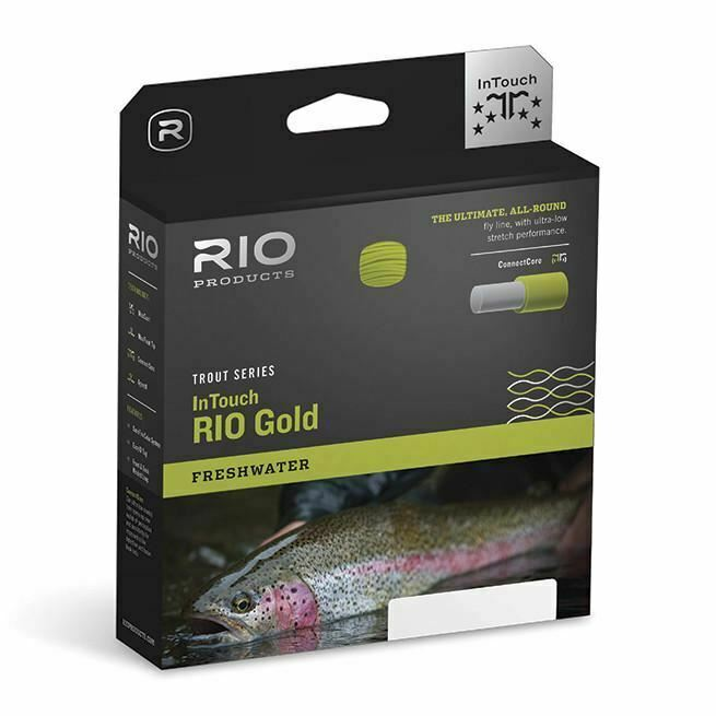 Rio Trucha serie InTouch Rio oro Fly  Line  alta calidad general