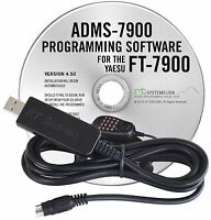 Yaesu Adms-7900-usb Software & Cable For Ft-7900/usb