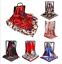 Fashion-Womens-Square-Satin-Silk-Scarf-Scarves-Bandanas-Head-Wrap-Shawl-35-35-034 thumbnail 1