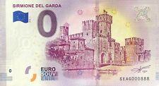 Zero 0 Euro Souvenir Balcone di Romeo e Giulietta Verona 2018 Italy UNC