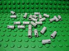 Lego 25x Light Bluish Gray Technic Bush