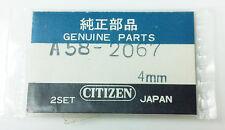 CITIZEN A58-2067 GOLD TONE MINUTE & HOUR HANDS 2 SETS 4MM ORIGINAL GENUINE NOS