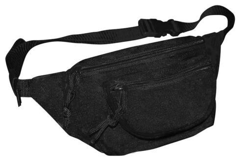 NEU Bauchtasche Schwarz Gürteltasche Doggy Bag Hüfttasche Army ca. 2.5 L Outdoor