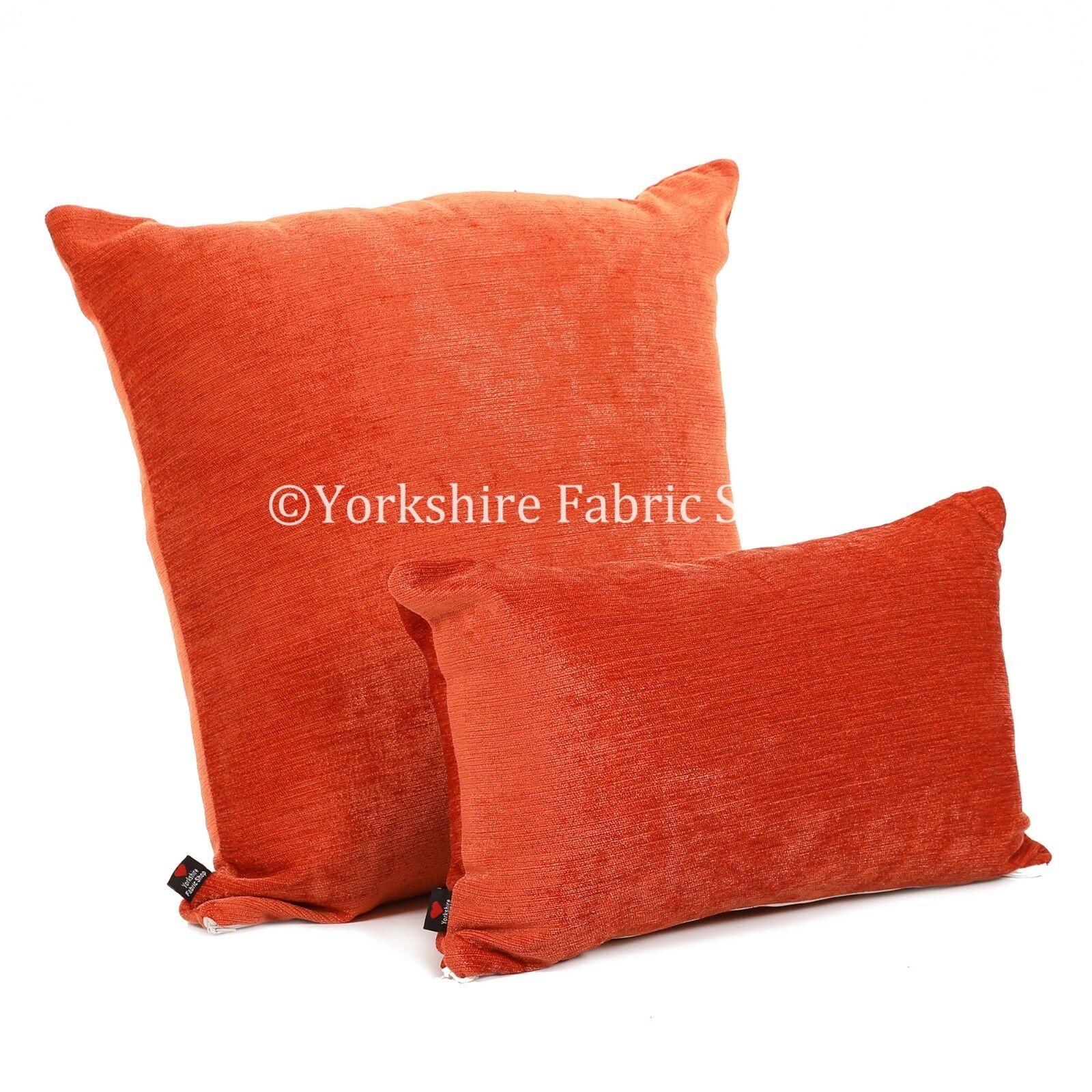 Nouveau designer texturé luxueux doux chenille handmade cushion cover & & cover remplissage 296e59