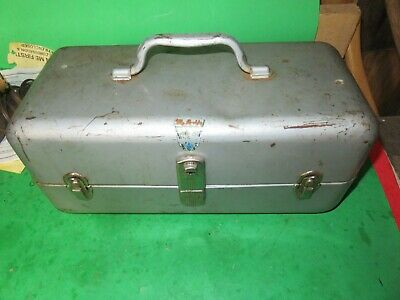 Vintage My Buddy Tackle Box Falls City With Tackle Ebay
