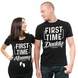 Pregnancy-Shirt-Matching-Couple-T-shirts-Pregnancy-Announcement-Maternity-Shirt