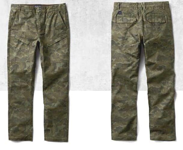 Jeans  Roark Revival  The Caravan Pant   camo  Gr.M   men