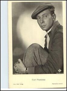 1950-60-Portraet-AK-Film-Buehne-Theater-Schauspieler-CARL-RADDATZ-Ufa-Foto-AK