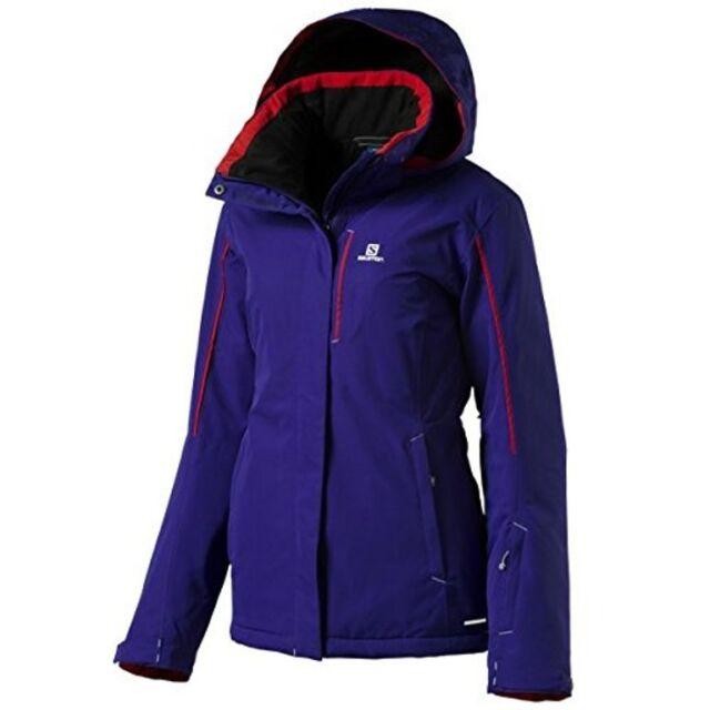 Salomon Strike L39116300 Skijacke Damen violetred *UVP 249,99