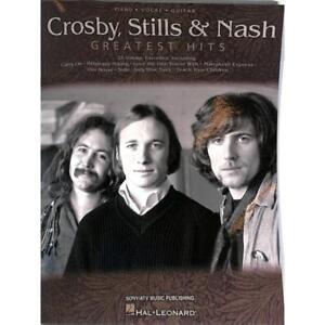 Crosby-Stills-amp-Nash-Greatest-Hits-Songbook-Klavier-Gesang-amp-Gitarre-Noten