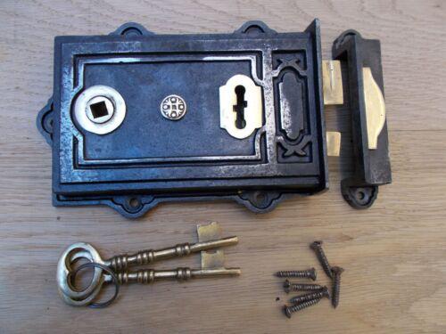 Gusseisen Rustikal Felge Tür Riegel Schloss Vintage Alt Retro Viktorianisch Stil