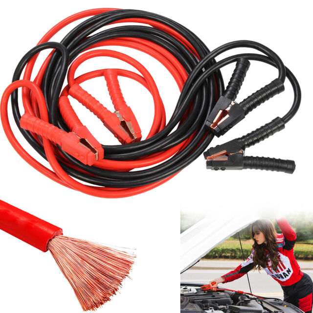 Roadster NEW HEAVY DUTY 800AMP CAR VAN JUMP LEADS 4 METRE LONG BOOSTER CABLES START