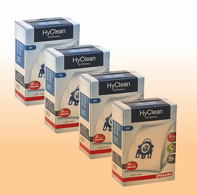 sf-aa50/Active AirClean Filter Miele Cat /& Dog Genuine S8310/S8330/S8390/S8530/S8590/GN HyClean sacchetti