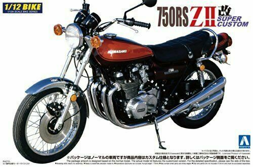 Kawasaki ZII 750 Road Star 1:12 Model Kit Bausatz Aoshima 041505 Naked Bike