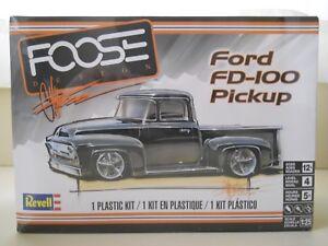 REVELL-FOOSE-DESIGN-FORD-FD-100-F-100-PICKUP-TRUCK-MODEL-KIT-SEALED