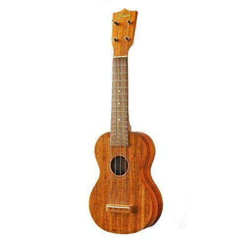 New Famous Soprano Koa ukulele FS-5 Hawaiian Koa Japan new .
