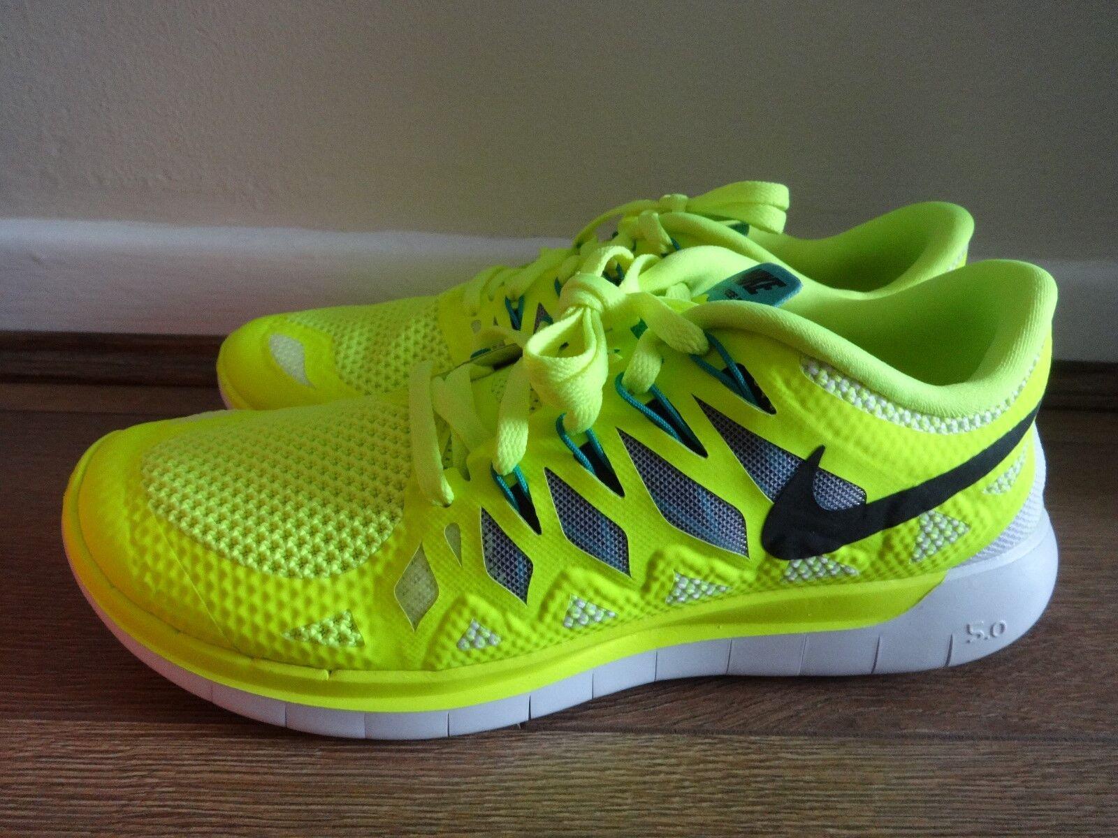 Nike Free 5.0 para Mujer Zapatillas Zapatos 642199 701 nos 6 Nuevo + Caja