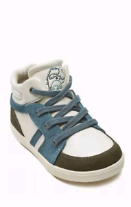 Next-Hi-Top-Trainers-Boys-Chukka-High-Top-Boots-Kids-Shoes-Size-UK-10-12-Kids