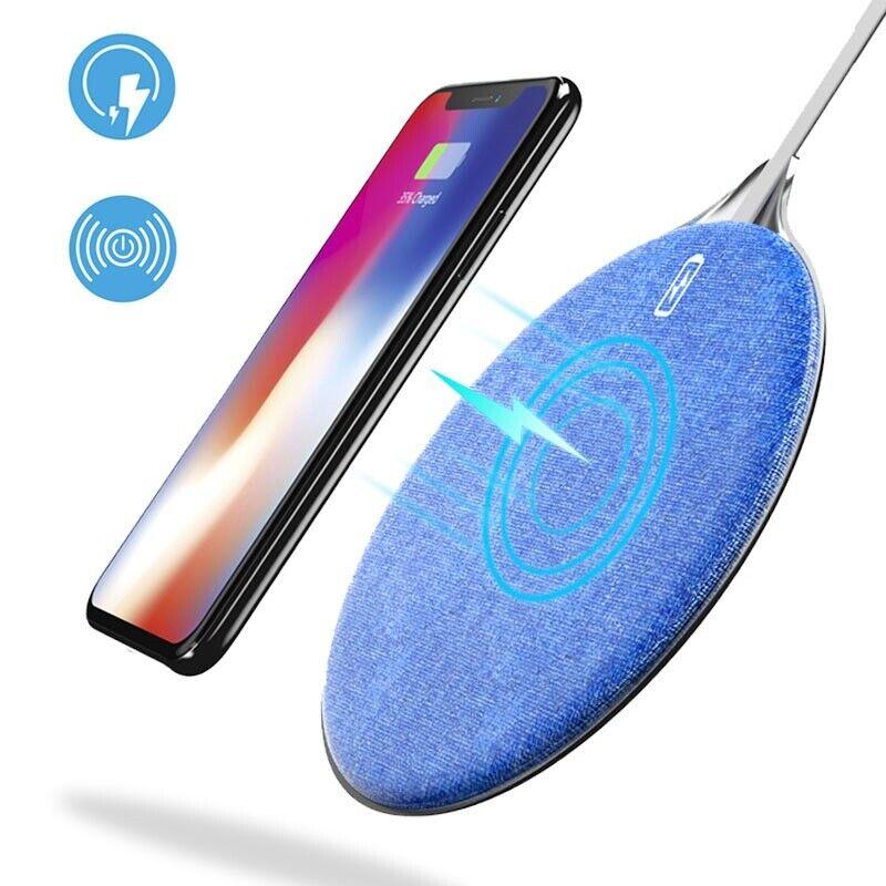 Oplader, Trådløs til Alle telefoner 10W med QI funktion