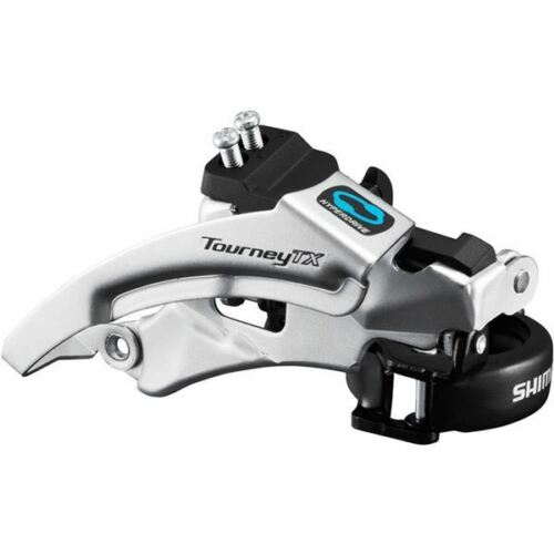 Shimano fd-tx800 Tourney TX front derailleur Top Swing Dual Pull 66-69 42//48t