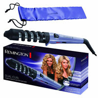 Remington Ci63e1 Dual Hair Curling Tong With Storage Pouch Brand