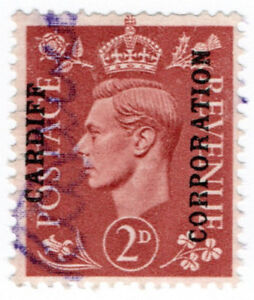 I-B-George-VI-Commercial-Overprint-Cardiff-Corporation