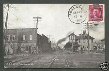Ashland C & O Depot Railway Station KY Kentucky stamp 1907