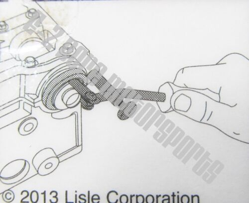 Lisle 58430 Seal PullerPull Seals With Shaft in PlaceMotorcycle Marine