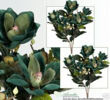 TWO 2/' Magnolia Silk Flowers Artificial Plants 305BD