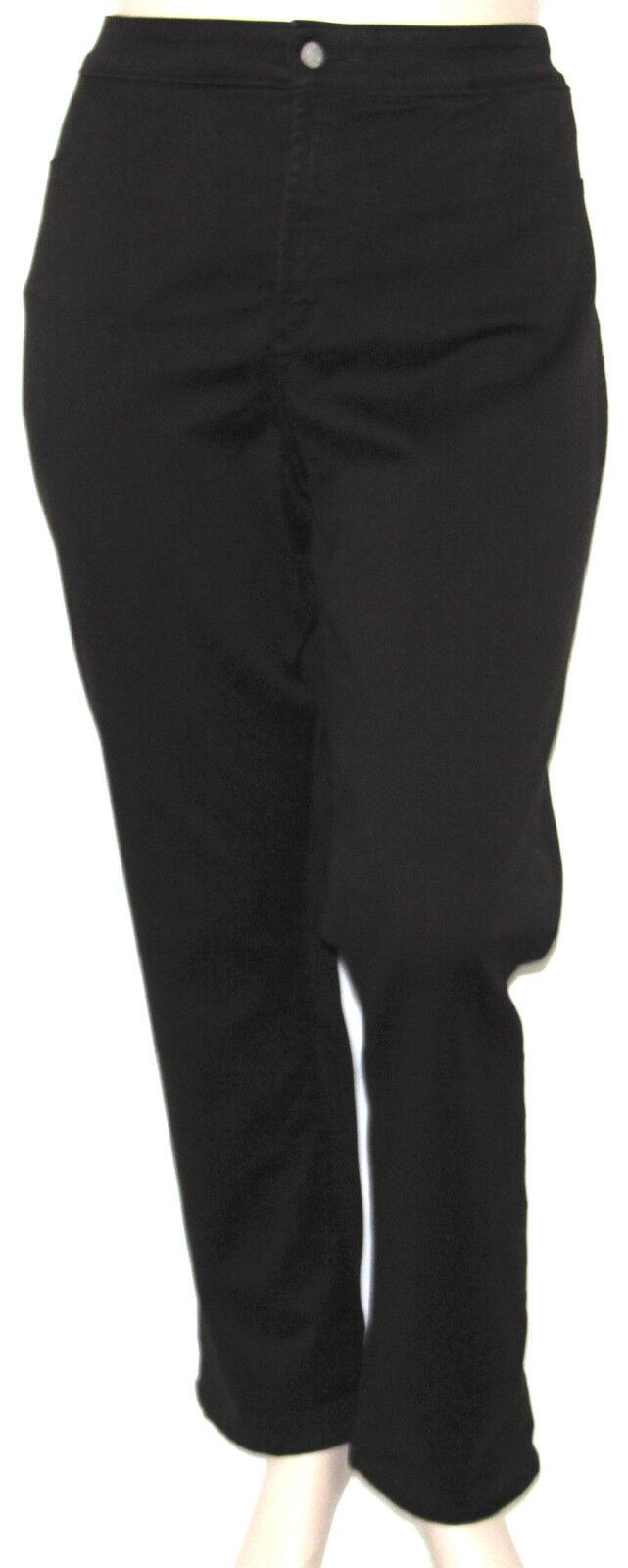 NEW NYJD Plus 24W Janice Jean Skinny Leggings ESPRESSO