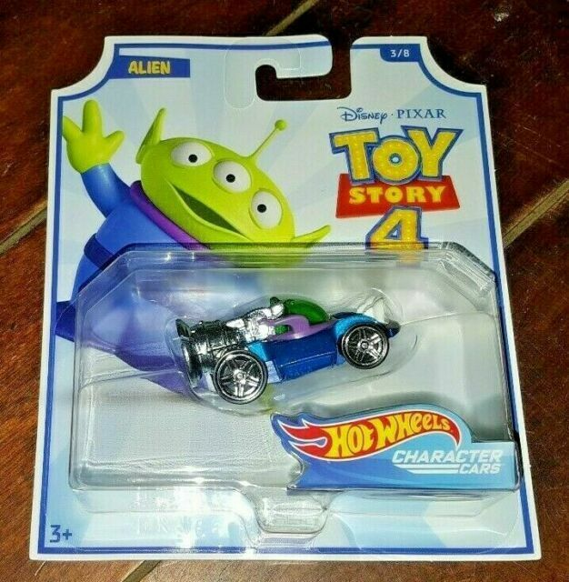 Hot Wheels 2019 Alien Gcy55 Toy Story 4 Character Cars 3 8 Gcy52