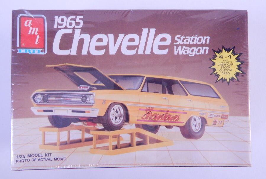 SEALED AMT 1 25 Scale 1965 Chevelle Station Wagon R12858