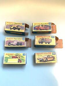 Lote-De-Matchbox-Superfast-Vacio-Original-de-trabajo-cajas-Superfast-8-56-72-16-34-11-ref9