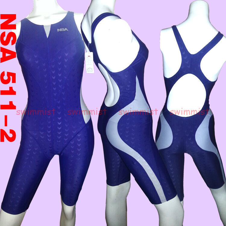 [NWT] NSA 511-2 COMPETITION TRAINING SHARKSKIN KNEESKIN M US GIRLS 12-14 MISS 2