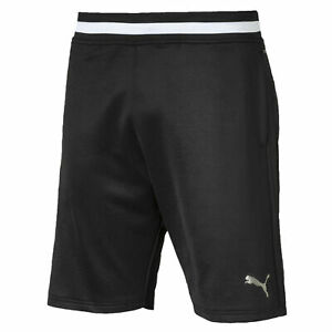 PUMA-Collective-Men-039-s-Sweat-Shorts-Men-Knitted-Shorts-Training