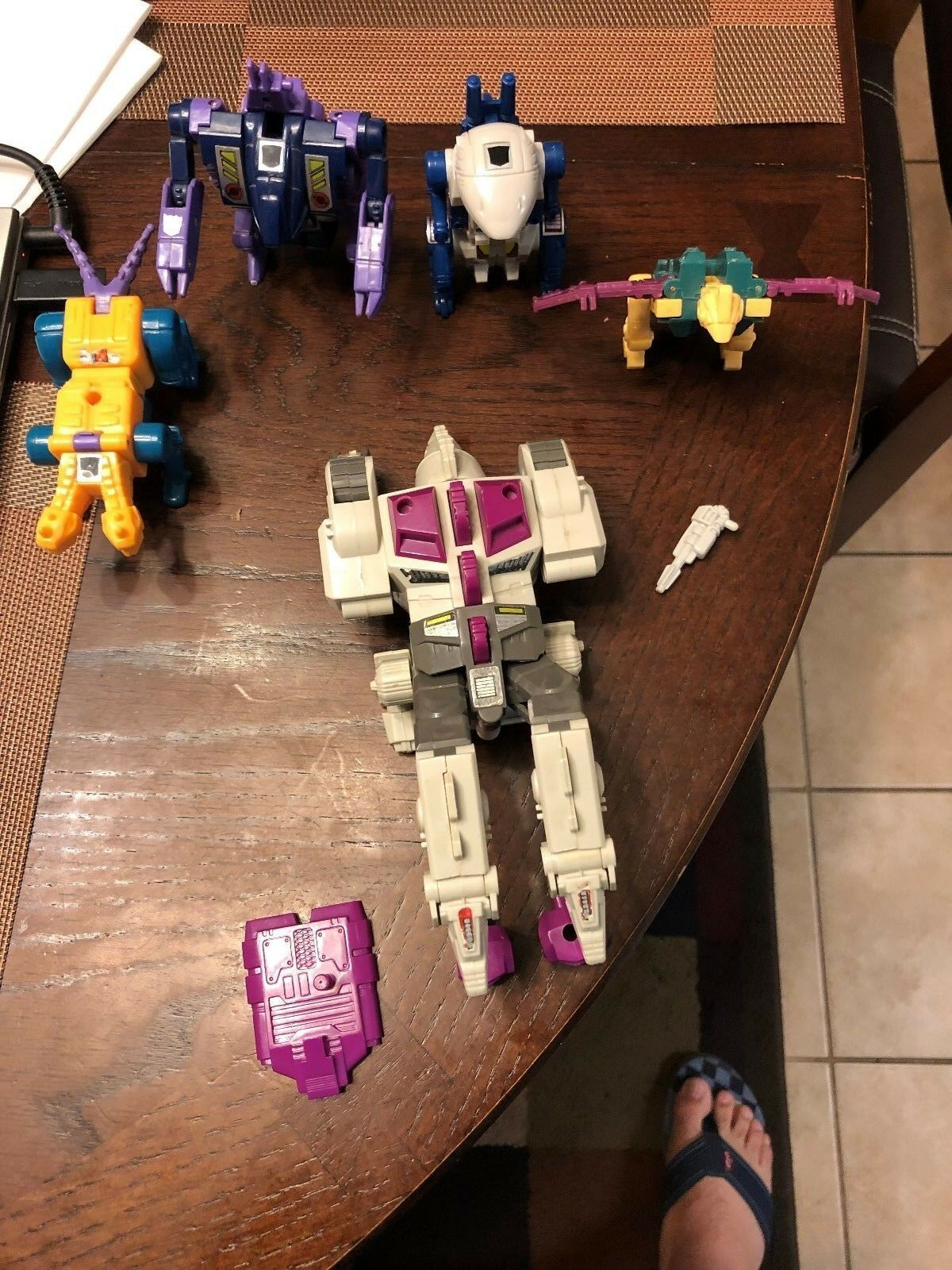 Transformers G1 Terrorcons  ABOMINUS  Combiner Set VINTAGE 1987