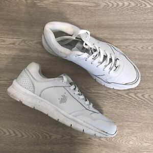 U.S. Polo Assn Racer Men's Athletic Running Shoes Sneakers White Size 10