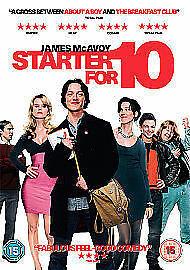 1 of 1 - Starter for 10 DVD (2007) James McAvoy