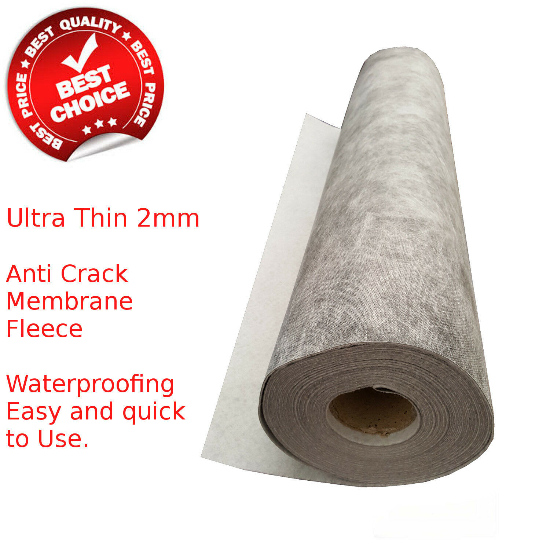 Decoupling Waterproof Membrane matting, 5 or 20 Metre Rolls
