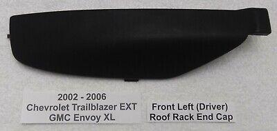 Trailblazer Rainier Roof Rack Rail Luggage Front Cap LEFT Front End Cap 15005729