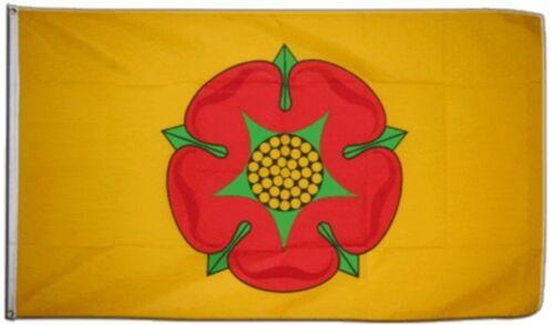 ROYAUME-UNI LANCASHIRE NOUVEAU Hissflagge britanniques drapeaux drapeaux 150x250cm