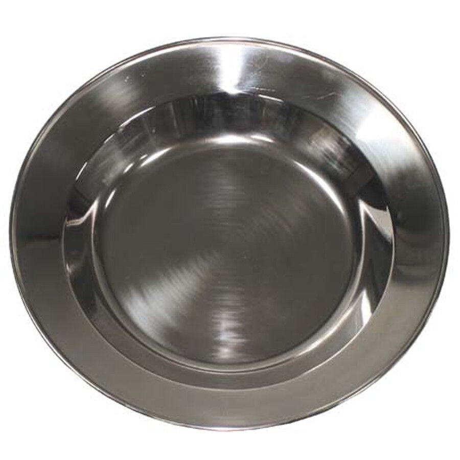 Ceinturon en acier inoxydable inoxydable inoxydable assiette Camping assiettes à soupe Assiette camping ASSIETTE ø 22 CM 858cfb