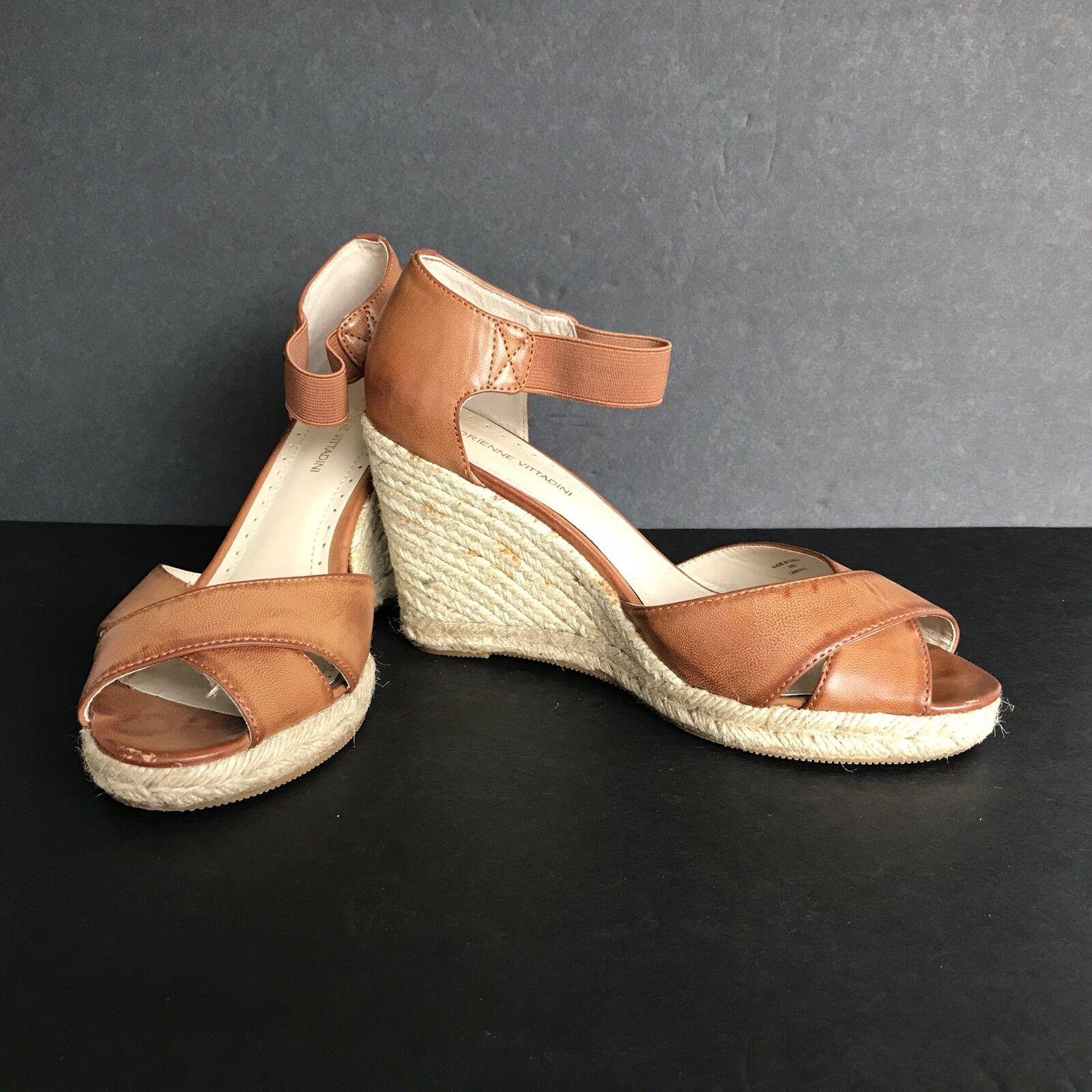marron Cuoio Vee chaussures Vittadini Adrienne 4 Femme Med 9